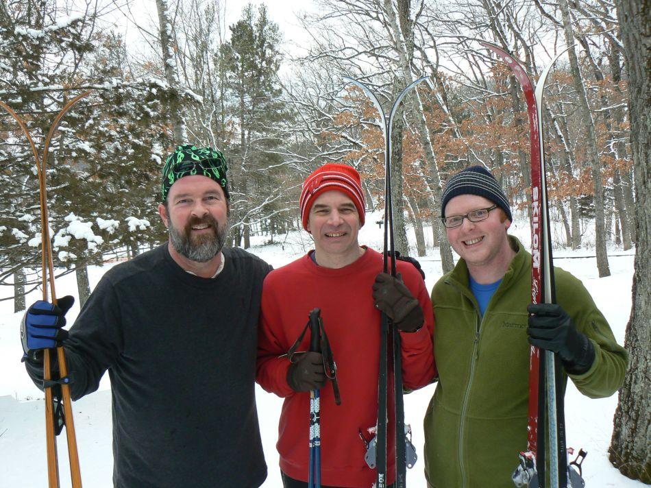 We Three Skiiers...
